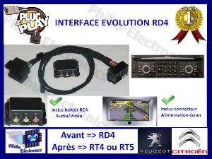 Interface Evolution RD4 vers RT4 / 5