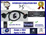 Interface Evolution RD4 vers RT6